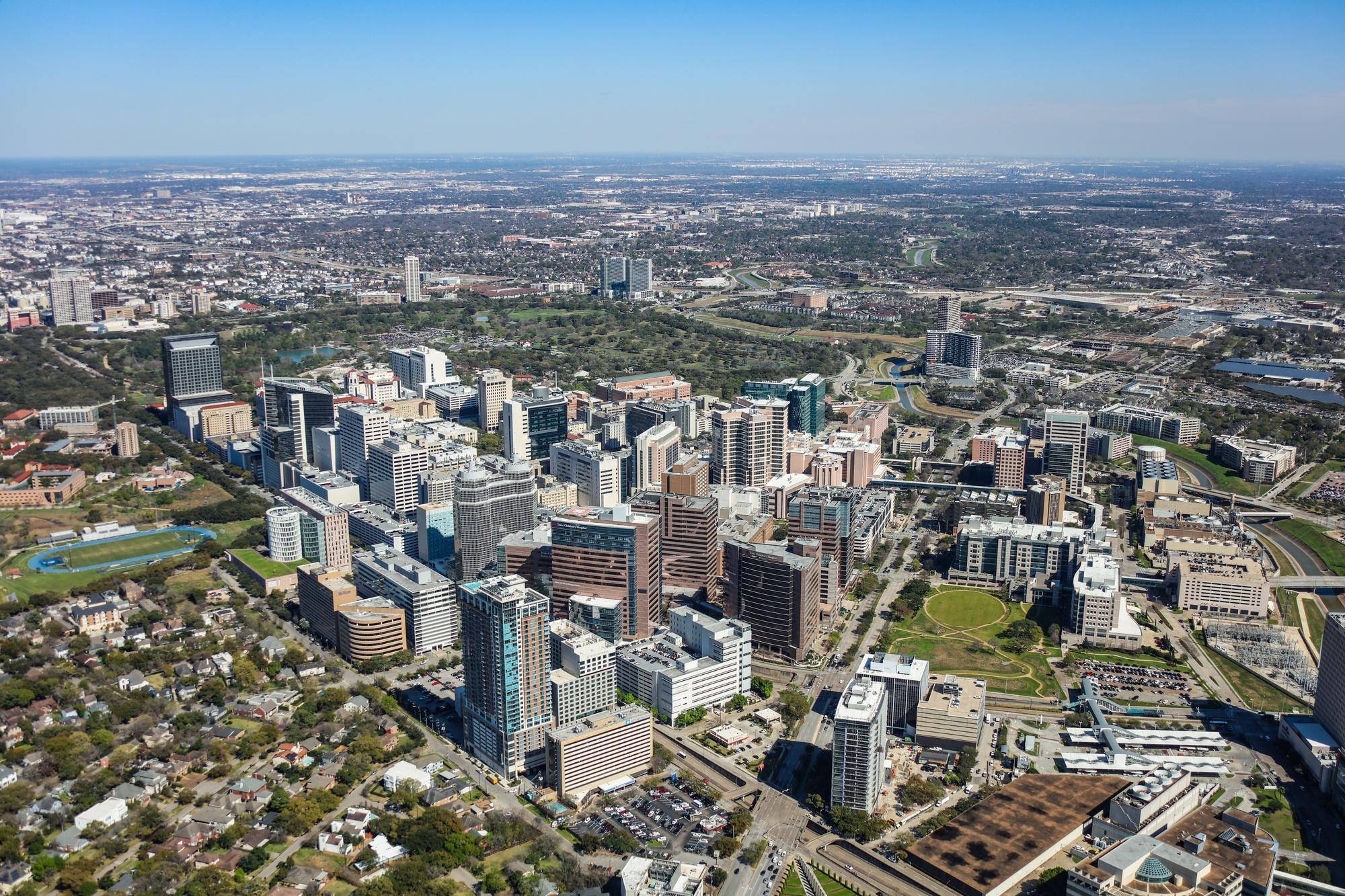 Houston Aerial Photography