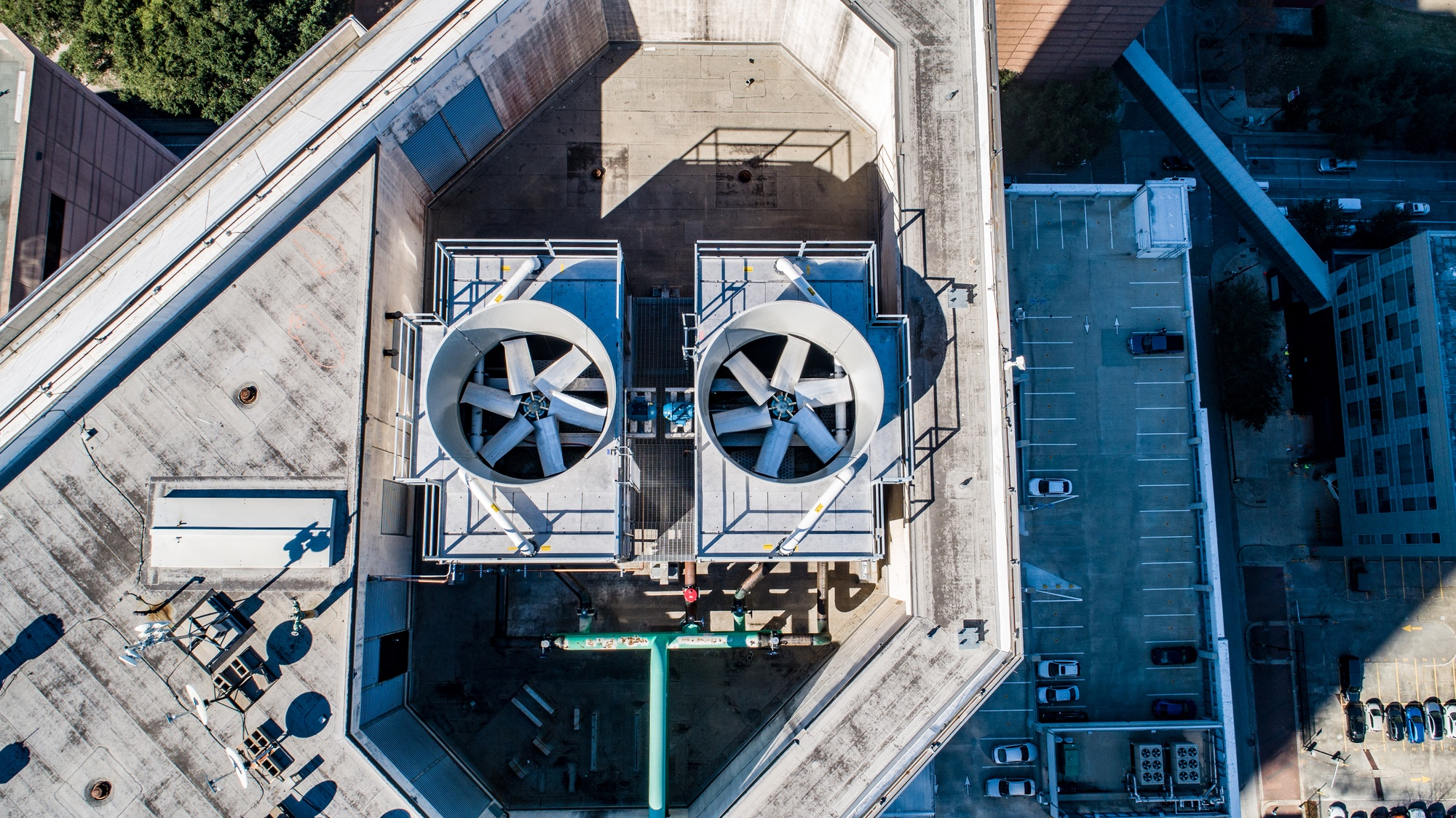 Construction Drone Photography
